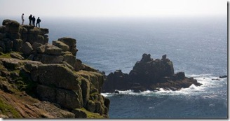 Cornish cliff