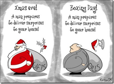 christmas eve vs boxing day