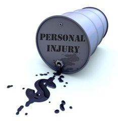 personal injury oil spill