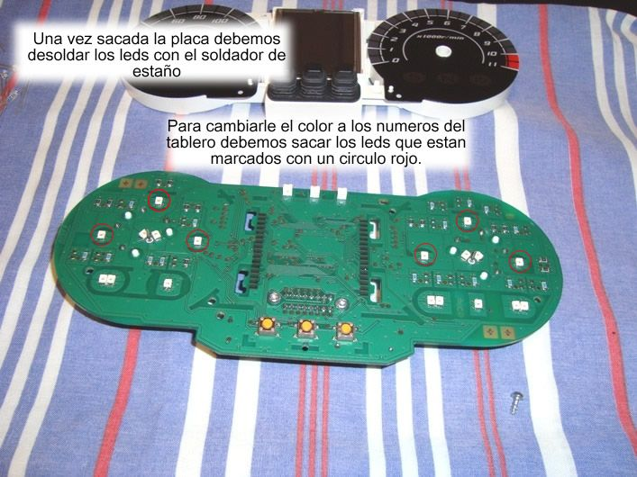 """Luces Tablero """"Twister"""""""