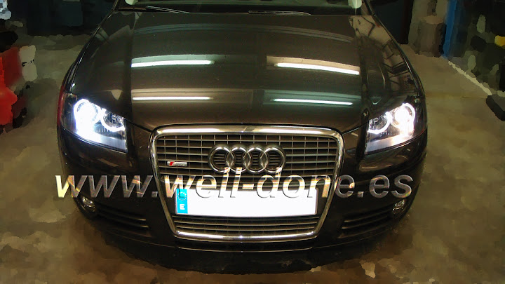 Audi A3 Xenon well-done welldone limpias A38P