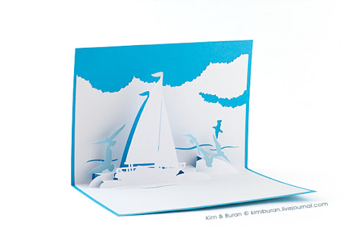 Поделки из бумаги:открытки