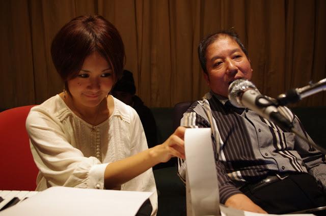 中嶋ユキノさんと向谷実さん
