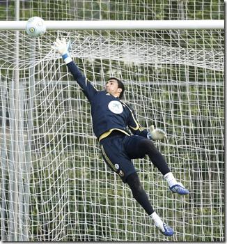 Sergio Asenjo - FM 2010 Wonderkid - Goalkeeper