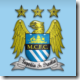 Manchester City logo in Football Manager 2010