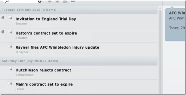 News in Football Manager 2011