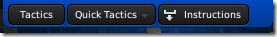 Quick tactics button in Football Manager 2011