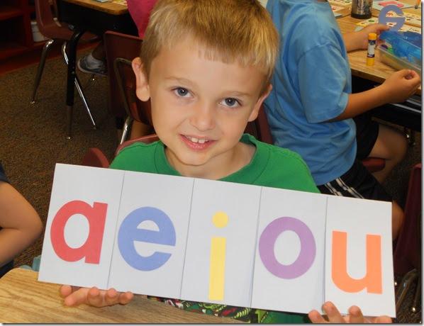Mrs. Bumgardner's 1st Grade Class: Short Vowel Review Week