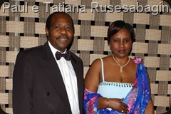 Paul e Tatiana Rusesabagina