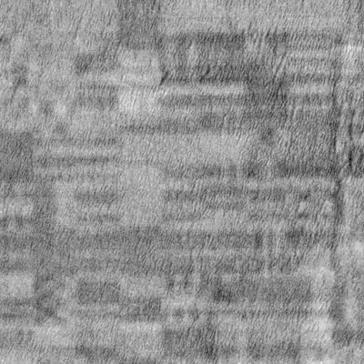 Echus Chasma, canal Cb de la descomposición YCbCr del fragmento anterior, con el contraste mejorado