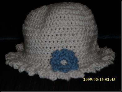 Flower Applique Hat