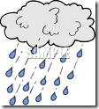 cloud and rain clip art