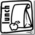 sack lunch clip art