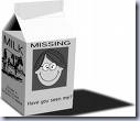 Milk Carton Funny Missing Pic Clip Art
