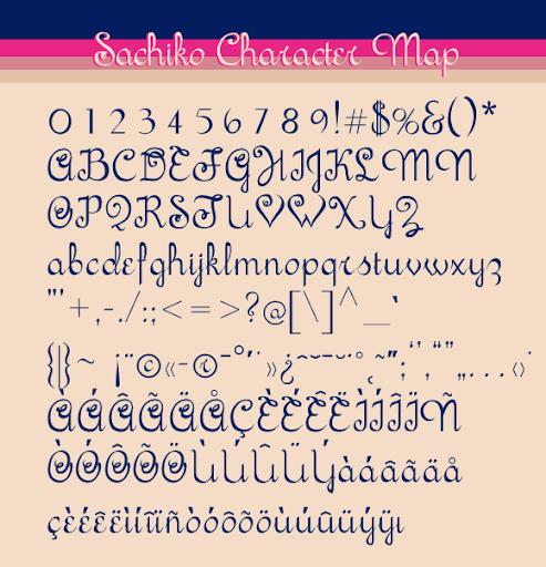 Sachiko Script Font