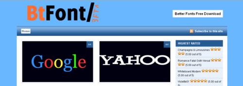 Bt Font | Better Fonts
