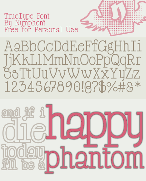 HappyPhantom Font Normal