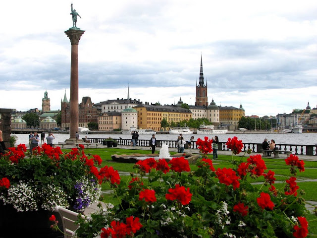 Stockholm's Gamla Stad (Old Town), viewed from City Hall