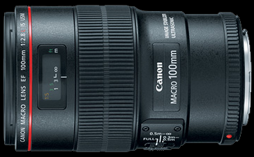 Canon 100mm f/2.8L Hybrid IS USM Macro Lens