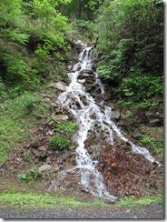 Free running waterfall