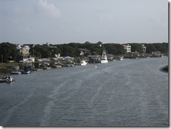 Crossing the IntraCoastal Waterway