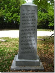 Secessionville Battle Monument