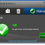 fertigPadnaCloud Antivirus läuft