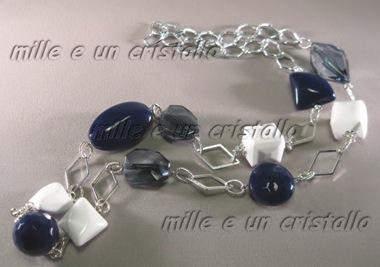 Blu e bianco