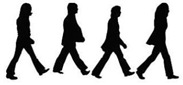 abbey road_silhueta