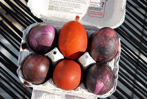 Easter Egg Dying with Expat Kochen