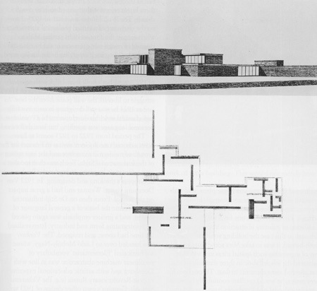 Mies van der rohe brick house project