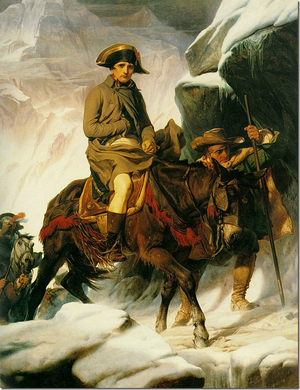 Delaroche - Napoleon Crossing the Alps