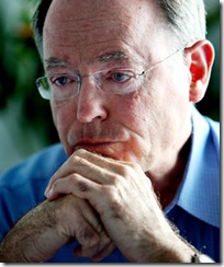 Former leader of the National Party Don Brash talks exclusively to political editor of the Sunday Star Times  Ruth Laugesen about life after politics and the direction he plans to take now that his marriage has broken up and he lives alone in a bachelor apartment in the Viaduct, Auckland.&#10;Pic:Lawrence Smith/Sunday News 200508