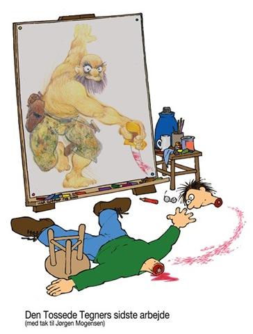 Danish cartoonist Ivar Gjørup
