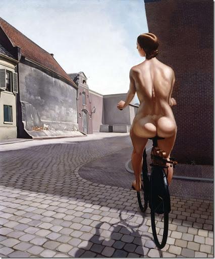"""... Joop Moesman was voted third best """"most beautiful Dutch nude"""" recently."""