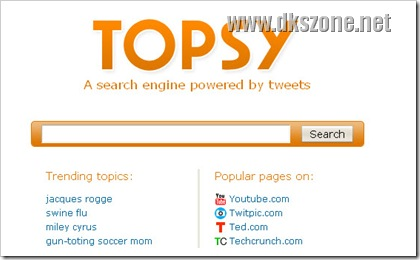 Topsy و Twitter يقدمان محركات البحث بمعنى جديد