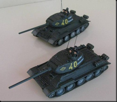 Forces of Valor T-34/85s