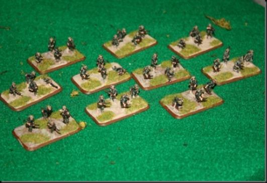 USMC Infantry Stands