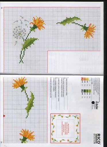 Ideas para centros de mesa bordados, diferentes pero lindos todos Guarda%20flores%20amarillas