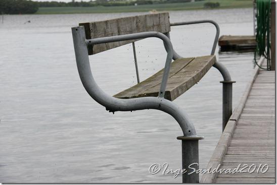 bænk på skuldelev havn
