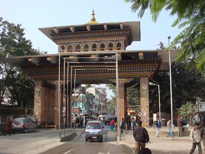 Phuntsholin Gate. Bhuton Entrance