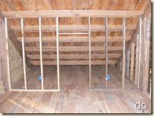 014 & Cedar Ridge Farm: Interior wall framing is finished