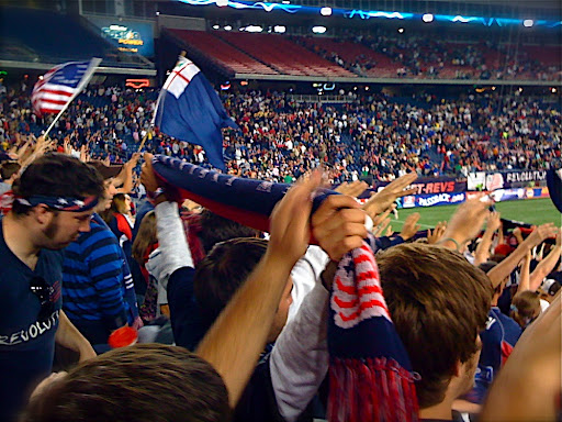 New England Revolution vs DC United from The Fort
