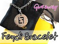 Giveaway Fendi Bracelet Charm
