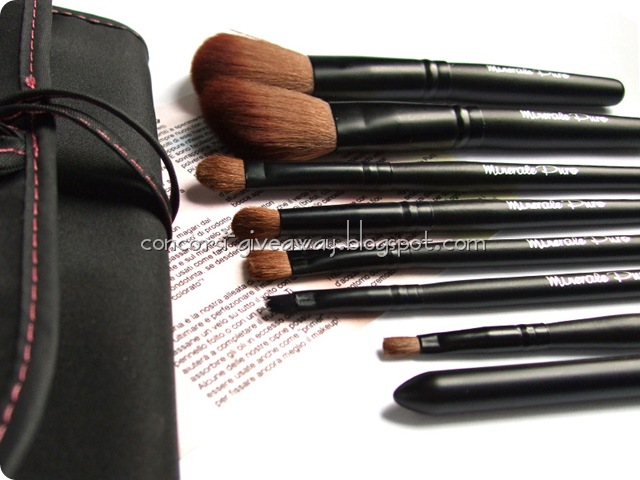 Giveaway-Minerale-Puro-make-up-Set-Pennelli