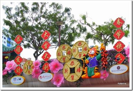 Kinesiskt nyår i Singapore