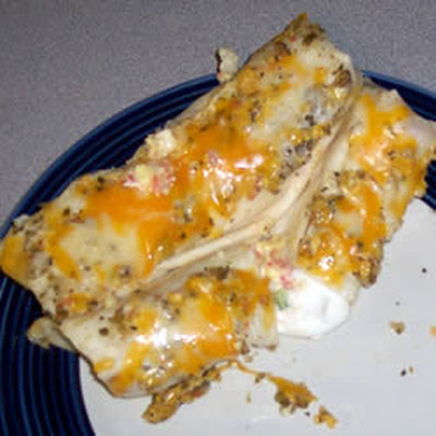Wrapped Mexican Eggs