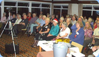 Some of the audience enjoying the wonderful music