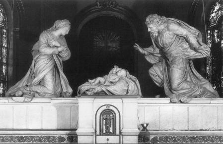 Kristus dzimšana, ANGUIER, Michel (1665–68), St Roch, Paris