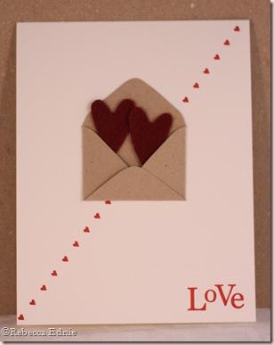 envelope love diagonal